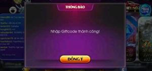 Hình ảnh code nohu 1 300x140 in Tặng code nohu365 club mới nhất có 2.000 giftcode